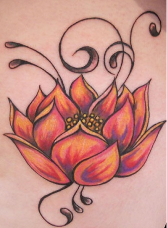 The lotus flower symbolizes the purity of heart and mind. It represents long life, health, honor and good luck