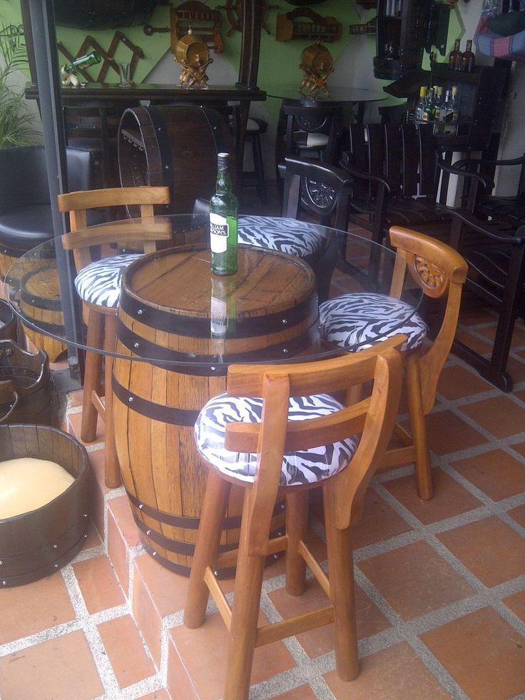 15 pines de mesa de barril que no te puedes perder mesa