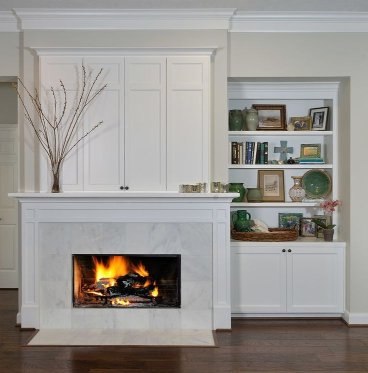 Before After A Dull Drab Interior Is Made Bright Beautiful By Carla Aston Tv Over FireplaceFireplace IdeasFireplace