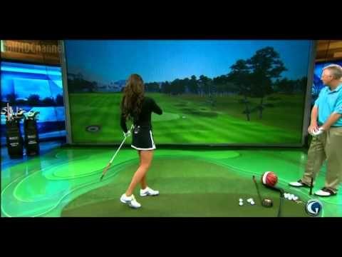 Holly Sonders' Golf Swing