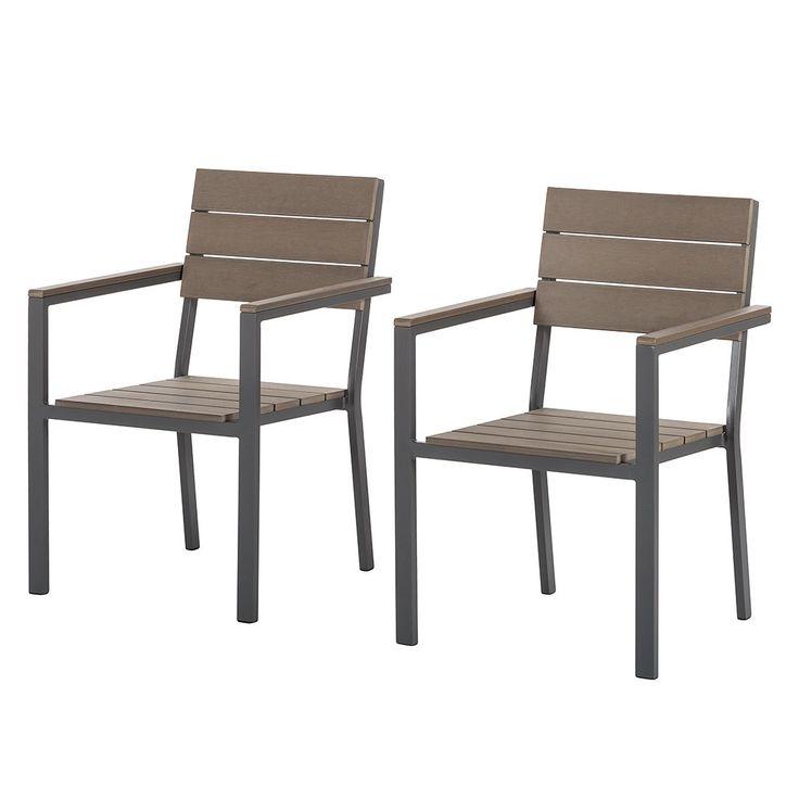 Gartenstühle holz stapelbar  Die besten 25+ Gartenstühle aluminium Ideen auf Pinterest | Stuhl ...