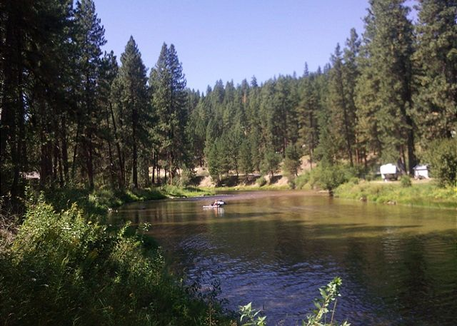 Garden Valley, ID United States   Piney River Retreat | Idaho Cabin Keepers