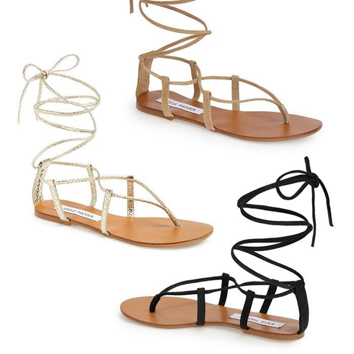Rank & Style - Steve Madden 'Werkit' Gladiator Sandal #rankandstyle
