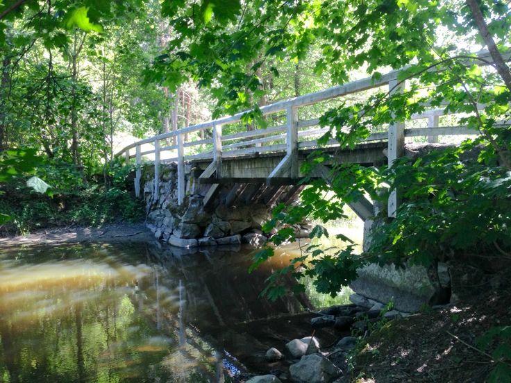 Bridge near Raseborg Castle, Finland