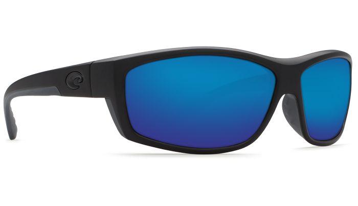 Costa Del Mar Saltbreak 580G Blackout/Blue Mirror Polarized Sunglasses