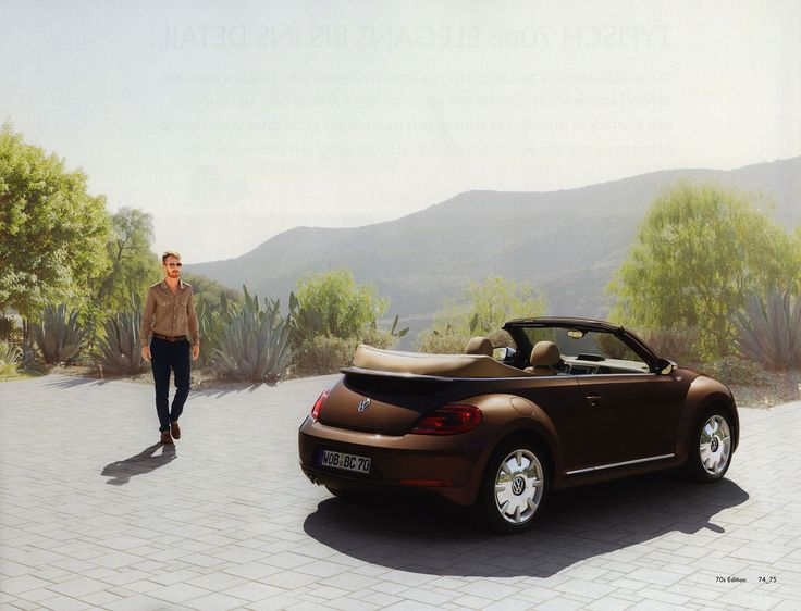 https://flic.kr/p/J8sTpf | Volkswagen Beetle - The 21st Century Beetle Cabriolet; 2013_5, 70s Edition