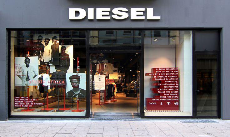 Diesel store in brussels