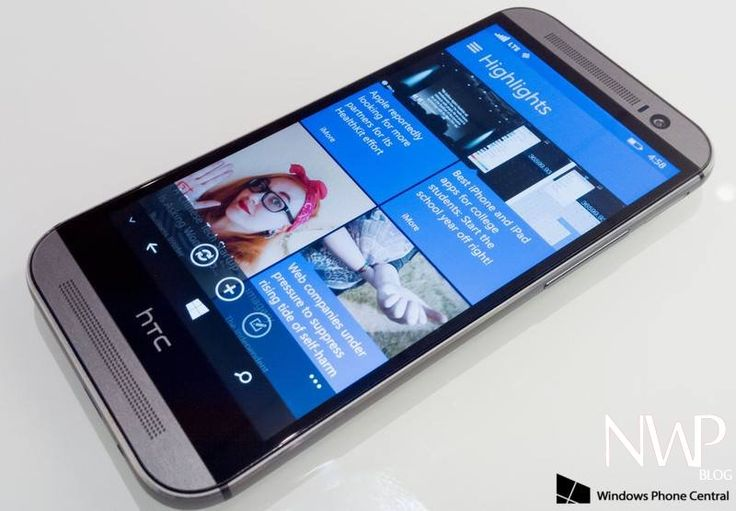 The HTC ONE M8 with Windows Phone - Nokia WP Blog