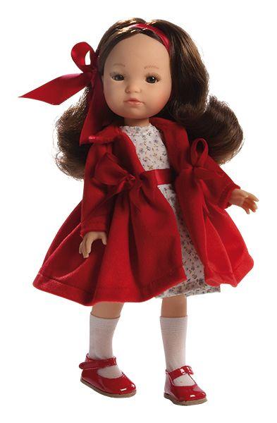 Realistická panenka holčička Eva od firmy Berjuan