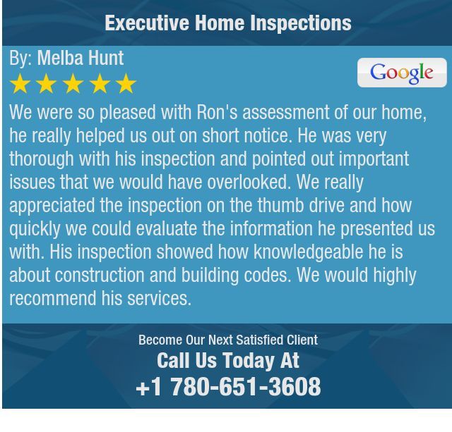 We were so pleased with Ron's assessment of our home, he really helped us out on short...