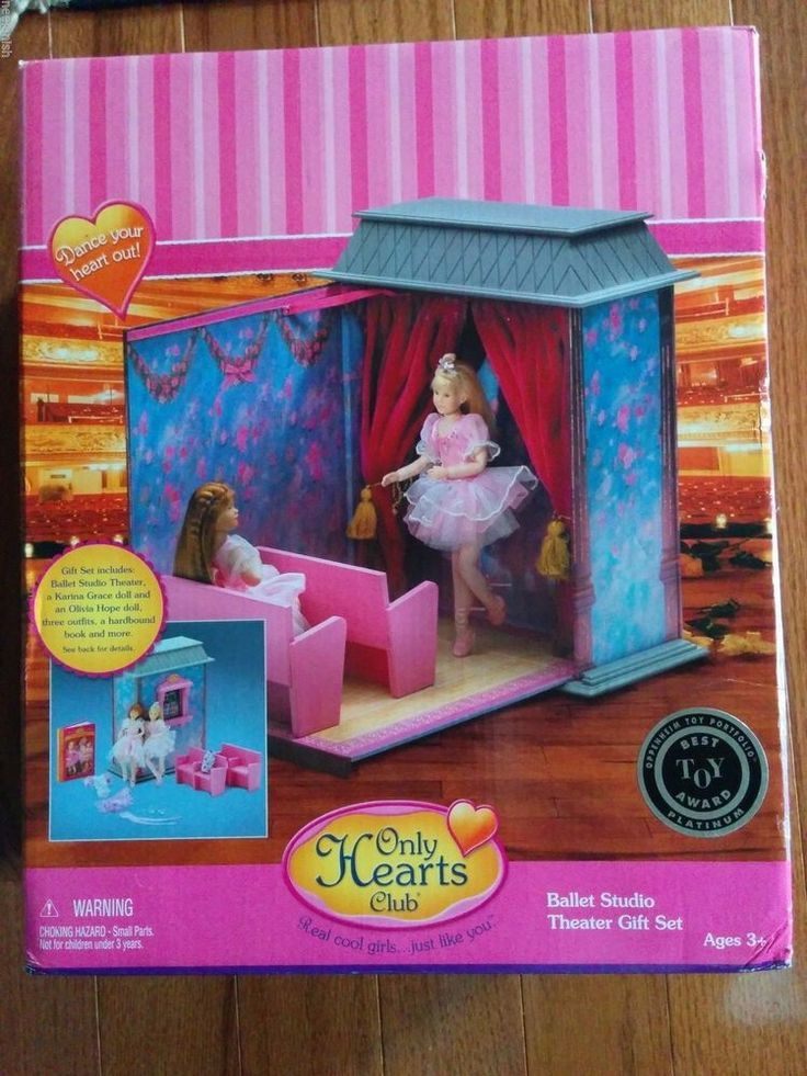 NEW Factory Sealed Only Heart Club Ballet Studio Theater for Karina Grace+2 doll #OnlyHeartsClub