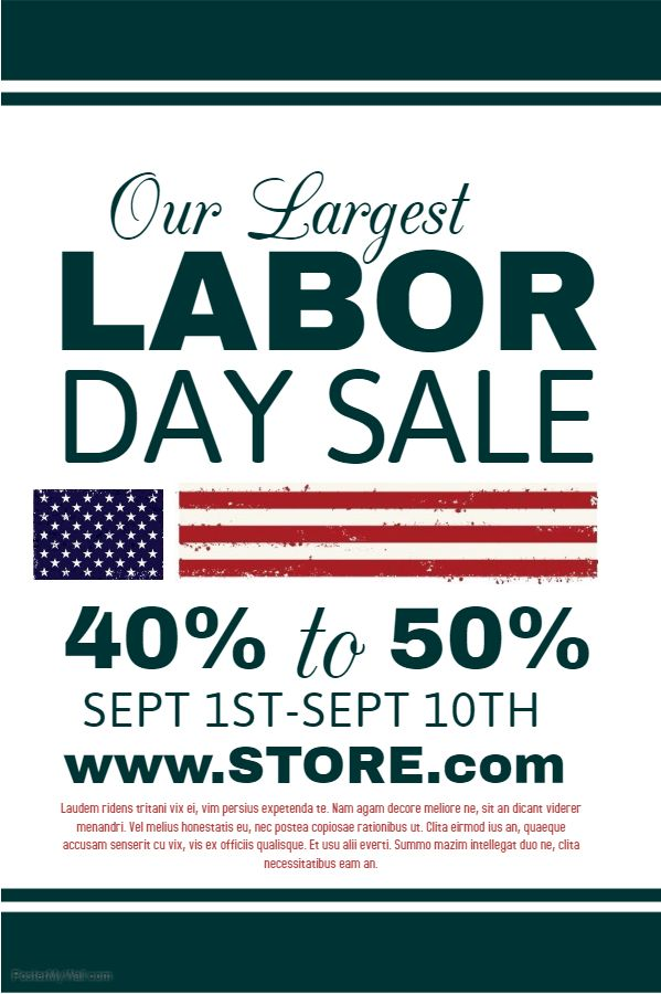 22 best Labor Day Posters images on Pinterest Online poster - missing poster generator