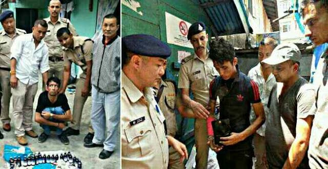 Drug Bust by Sikkim Police - 2 Arrested   Two persons were nabbed by Singtam Police with contraband substances (Capsules No 307 31 No Cough Syrup Bottles) and Rs 32000 cash.  The nabbed were identified as Hemant Chhetri alias 'Balkula' and Bidhan Rai. Cash was seized from Bakula.  Sikkim