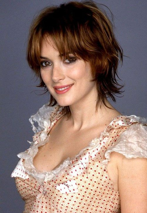Messy short shaggy hairstyles for thin hair