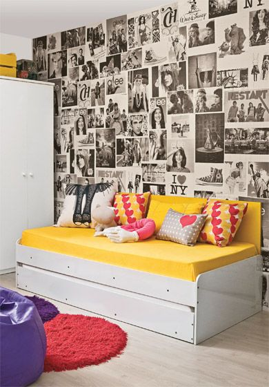 Decorar el dormitorio de una adolescente