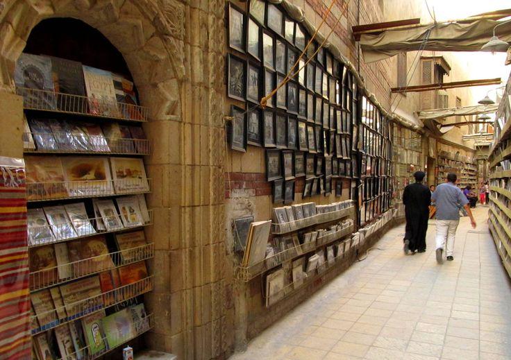 Street Library, Cairo, Egypt
