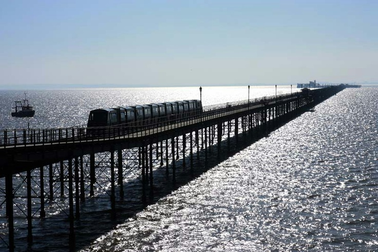 The Pier, Southend on sea Essex Wlked this when I was a child...would love to do it again ..all 1.3 miles of it ..