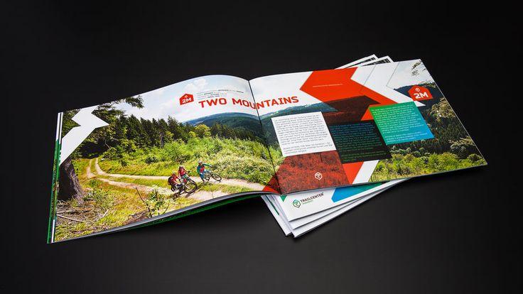 ATMO Designstudio - Broschüre - Trailcenter Rabenberg