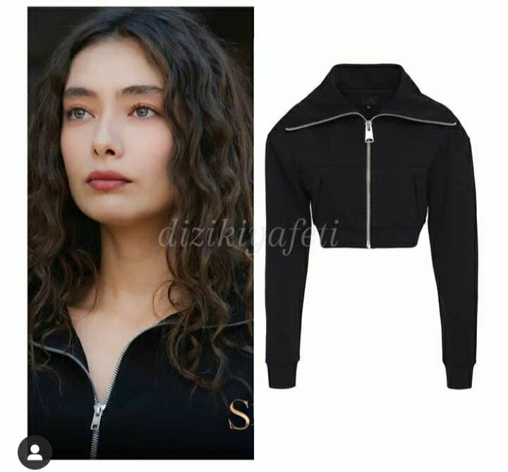 Nare Sefirin Kizi Neslihan In 2020 Leather Jacket Athletic Jacket Outfits