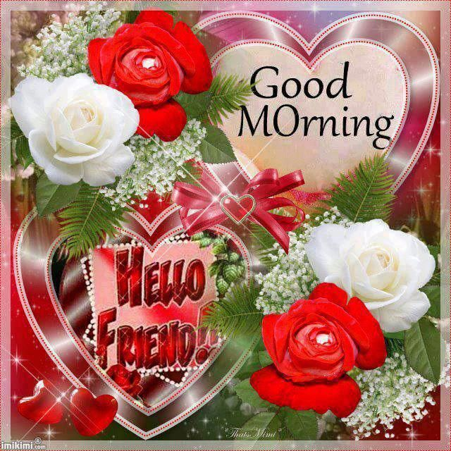 Bast Love Pictures With Good Morning: Friendly Sweet Regards For All