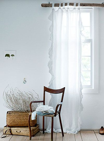 61 best White Curtains images on Pinterest | White curtains ...