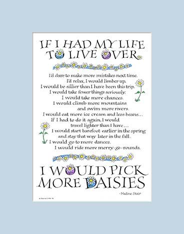 Poem I Would Pick More Daisys Another Favorite For You