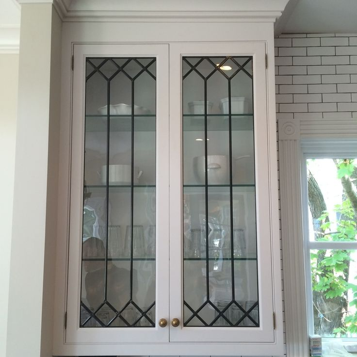 How To Put Glass In Kitchen Cabinet Doors: Best 25+ Leaded Glass Cabinets Ideas On Pinterest