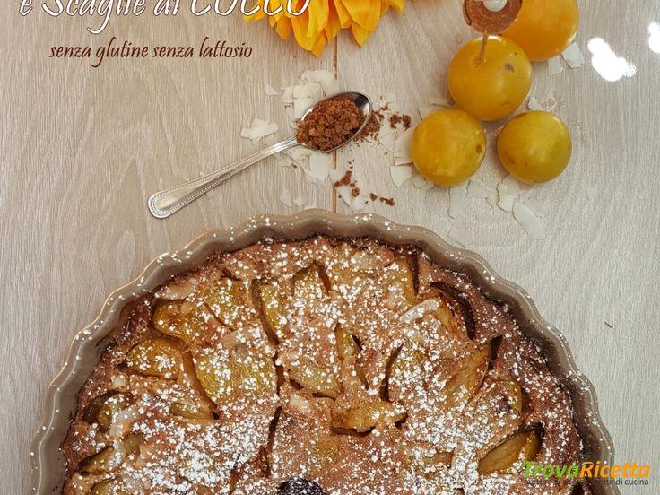 Clafoutis alle Prugne e scaglie di cocco: ti AUGURO tempo  #ricette #food #recipes