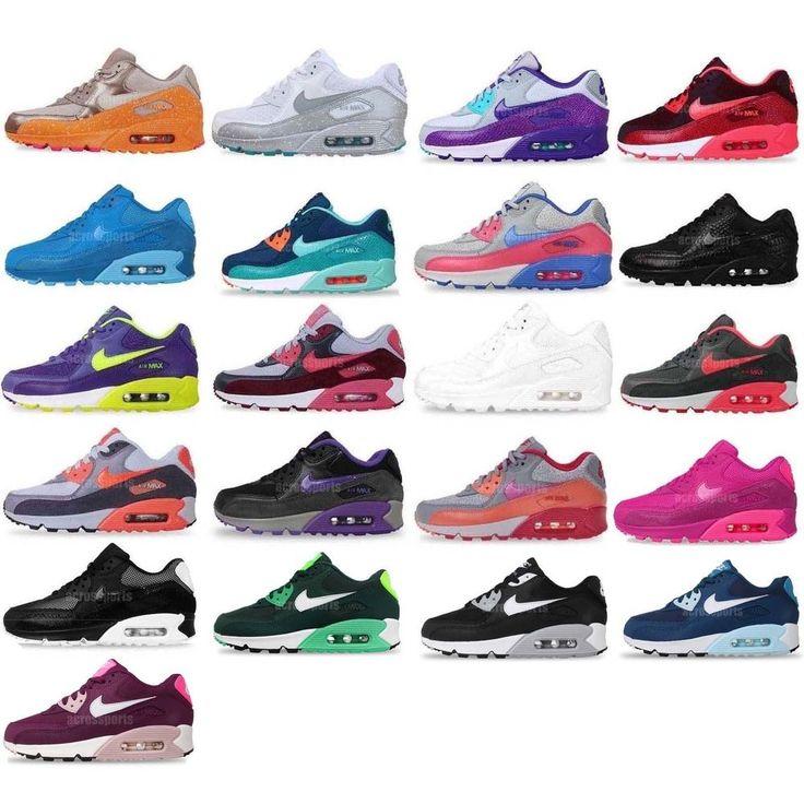 Nike Wmns Air Max 90 Essential / Splatter NSW 2014 Womens Running Shoes Pick 1   http://www.ebay.com/itm/181417455791