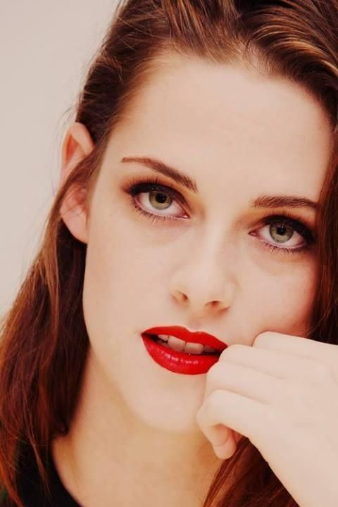 I was watching The Runaways. So I'm gonna give into my major girl crush and pin lots of pictures of Kristen.