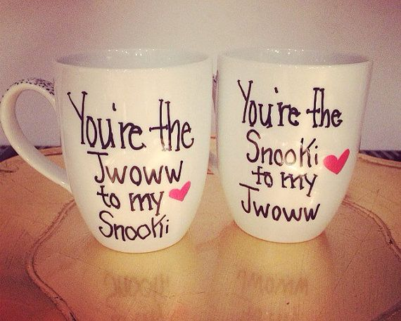 For all of our snooki&jwoww fans, this one is for you! I can also do the opposite- Youre the JWOWW to my Snooki ****if you purchased a mug or