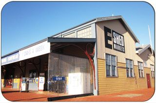 E Shed Markets, Victoria Quay, Fremantle WA - eShed Shopping in Fremantle