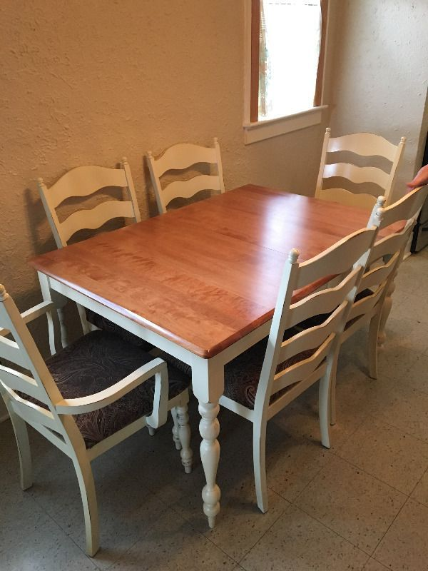 Dinning Table 6 Chairs Dining Tables Sets Windsor Region Kijiji In