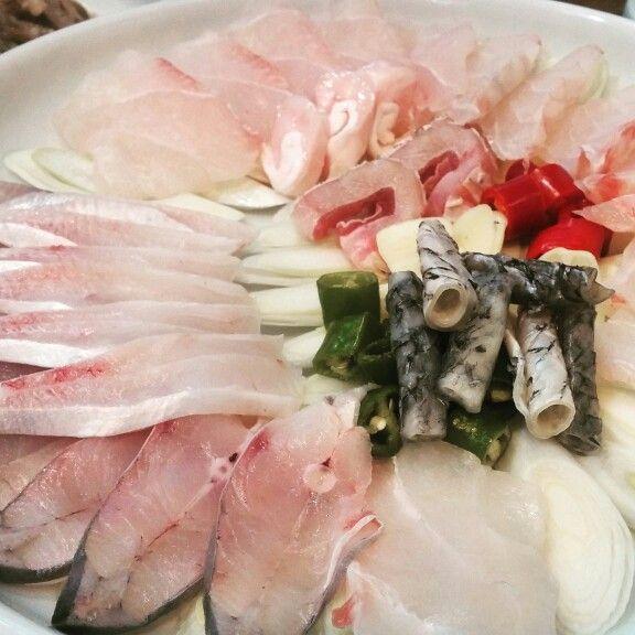 Croaker sashimi, Nonhyun Seoul
