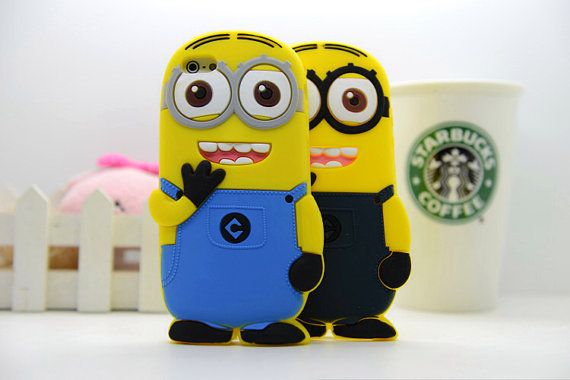 Despicable me cute minion cell phone case for iPhone by CrazyCrush, $7.59