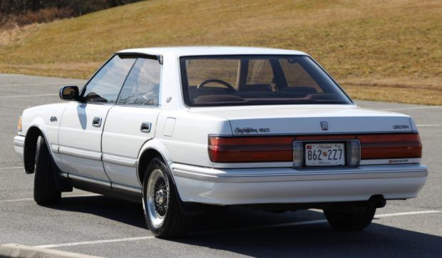 1990 Toyota Crown Royal Saloon In 2020 Toyota Crown Toyota Classic Cars