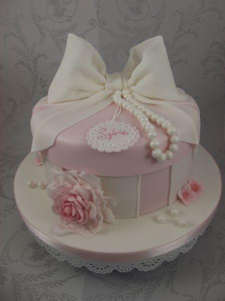hat box cakes | Hat box cake