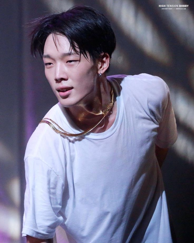 151024 Bobby @ iKON Fanmeet in Osaka ; - Bobby is sex  <<    truth.  I just keep staring at his hair.. can't get any more deliciously male than this..  he's one of those bad ass, sexy af rappers who seems to also be a nice, genuine person...   that combination absolutely incinerates panties...