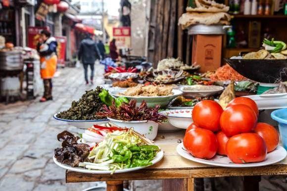 Shanghai Street Food Street Food Markt