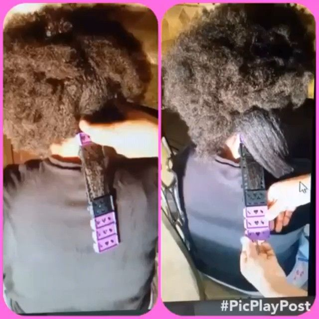 Want to STRETCH your hair without causing damage from direct heat? Here is The Limited Edition SSS Starter Set from @cwk_girls Snap together purple and black plates, Apply your favorite setting lotion and STRETCH your hair down smoothly on the plates. We only have 500 sets in stock, so if you would like to purchase please visit our website and get your order in: cwkgirls.com. We are currently running a holiday special!!! All customers who purchase before January 1st will get $6.00 off the…