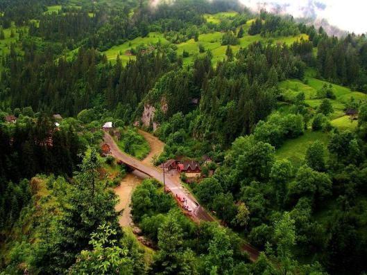 Apuseni mountains Romania landscapes Carpathians