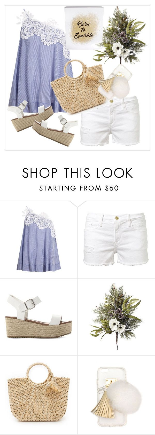 """Untitled #230"" by chanlee-luv ❤ liked on Polyvore featuring lila.eugenie, Frame Denim, Steve Madden, Frontgate, Hat Attack, Ashlyn'd and Erica Lyons"