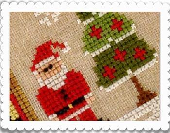 Pre Order Auto Ship Country Cottage Needleworks Santa S Village Laurel S Stitchery The Best Christmas Cross Stitch Cross Stitch Embroidery Cross Stitch