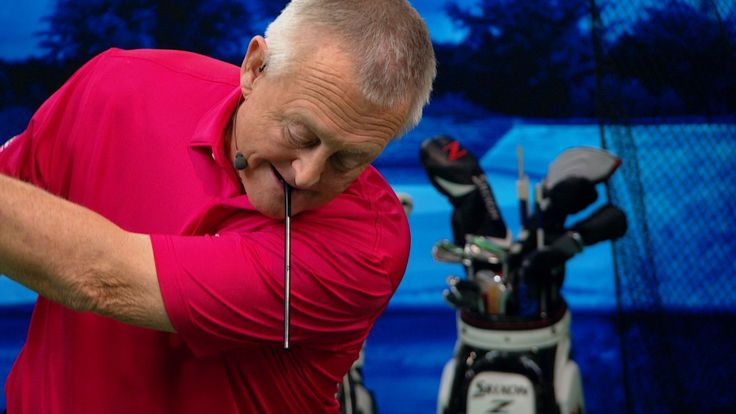 Golf drill for solid contact using a drinking straw | Golf Channel