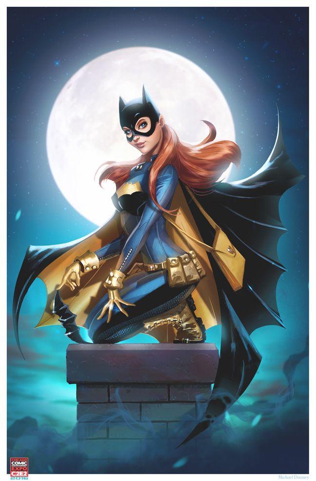 A.R.C.H.I.V.E., thehappysorceress:   Batgirl print! by Michael...