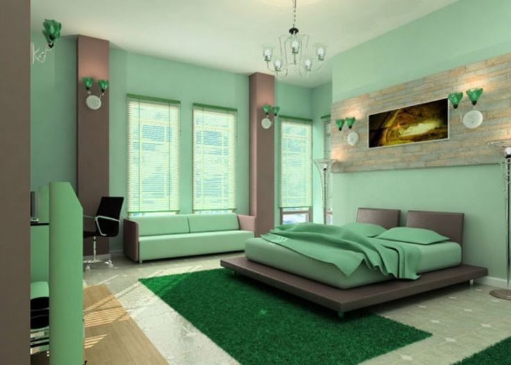 Best 25+ Green bedroom paint ideas on Pinterest | Green painted ...