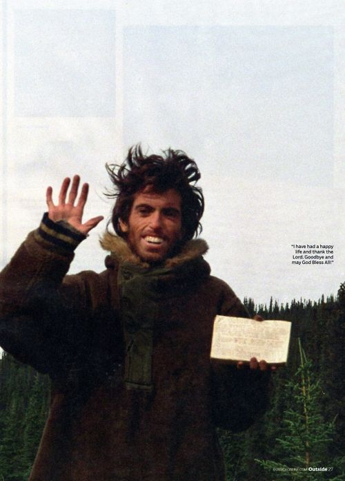 into the wild christopher mccandless s death Transcript of into the wild - what is the cause of mccandless' death into the wild what exactly killed christopher johnson mccandless.