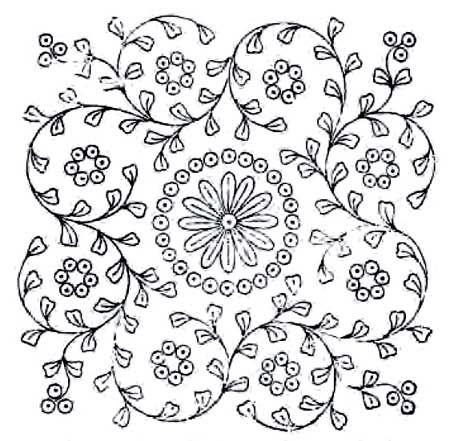 padrões de bordado a mão livre - Pintangle                                                                                                                                                      Mais                                                                                                                                                      Mais