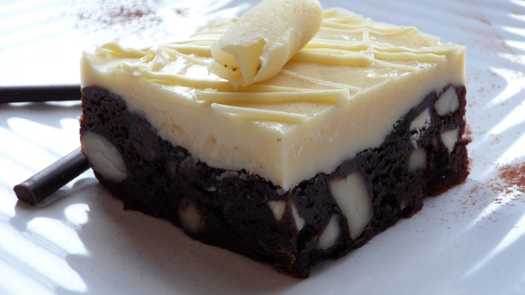White Chocolate Macadamia Ultimate Chocolate Brownies