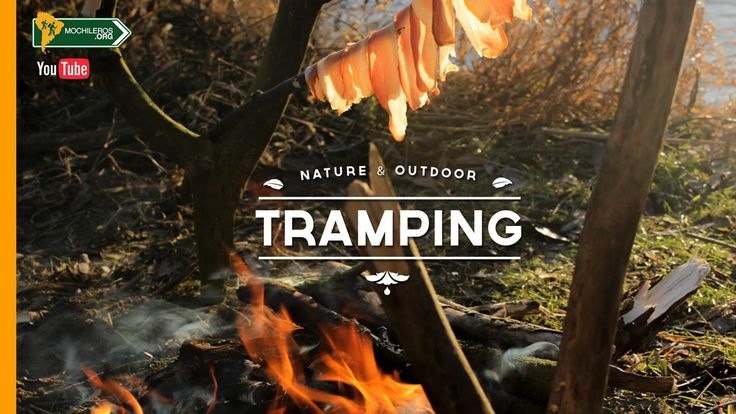 Tramping - Bushcraft  Outdoor in the woods Check a nice day making a campfire close to the river. Enjoy the relaxing acoustic music while the bacon is being coocked.  Una tarde maravillosa al lado del río. Disfruta la música acústica mientras se cocina el tocino.  #tramping #bushcraft #outdoor #campfire #firestarter #woods #inspiracion #acoustic